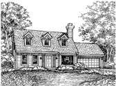 Plan Number 88177 - 1407 Square Feet