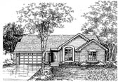 Plan Number 88181 - 1440 Square Feet