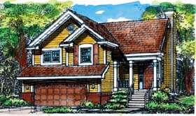 Traditional House Plan 88189 Elevation