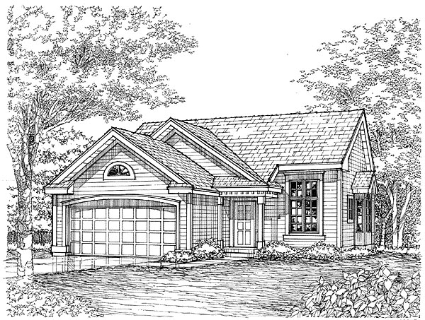 Traditional House Plan 88190 Elevation