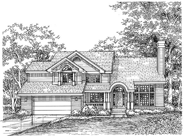 Traditional House Plan 88194 Elevation