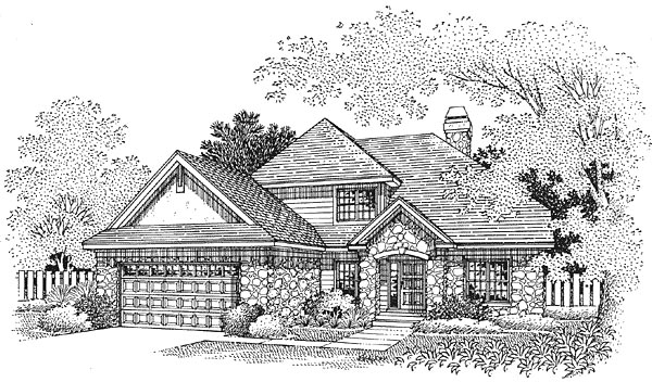 Traditional House Plan 88238 Elevation