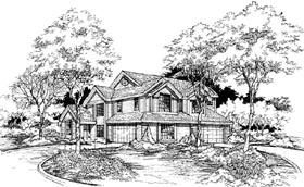 Plan Number 88243 - 3480 Square Feet