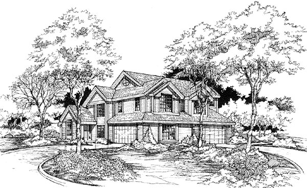 Multi-Family Plan 88243