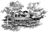 Plan Number 88323 - 1609 Square Feet