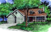 Plan Number 88324 - 1231 Square Feet
