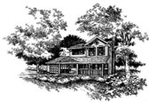 Plan Number 88326 - 1609 Square Feet