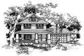 Plan Number 88327 - 1609 Square Feet