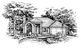 Traditional House Plan 88392 Elevation