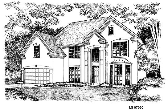 Traditional House Plan 88397 Elevation