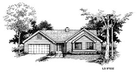 Ranch Traditional House Plan 88398 Elevation
