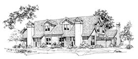 Plan Number 88406 - 4538 Square Feet
