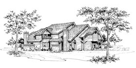Multi-Family Plan 88407