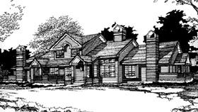 Plan Number 88411 - 4000 Square Feet