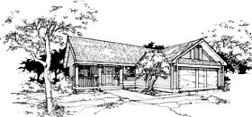 Country House Plan 88418 Elevation