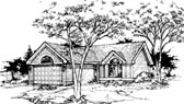 Plan Number 88419 - 1344 Square Feet