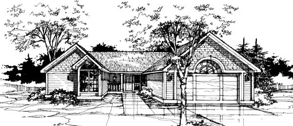 Country House Plan 88420 Elevation