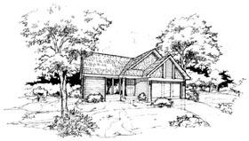 House Plan 88422 Elevation