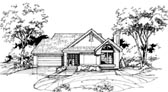 Plan Number 88432 - 1581 Square Feet