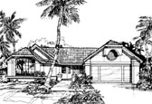 Plan Number 88437 - 1709 Square Feet