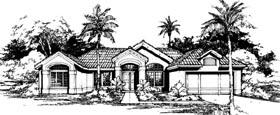 Mediterranean House Plan 88456 Elevation