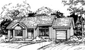 Plan Number 88461 - 1135 Square Feet