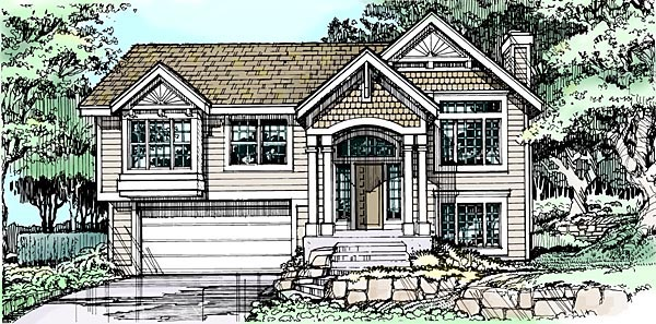 Traditional House Plan 88477 Elevation
