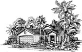 Plan Number 88499 - 1296 Square Feet