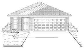 Plan Number 88602 - 1245 Square Feet
