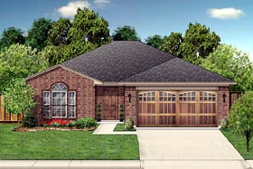 Traditional House Plan 88603 Elevation
