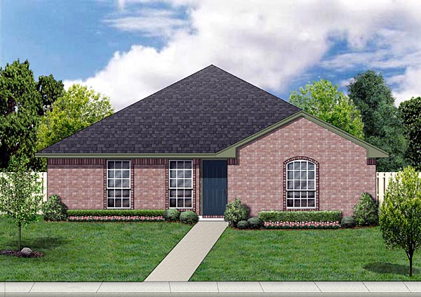 Traditional House Plan 88604 Elevation