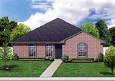 Plan Number 88604 - 1280 Square Feet