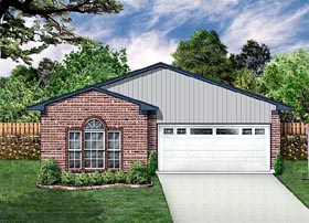 Traditional House Plan 88605 Elevation
