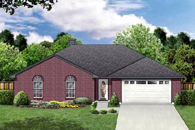 Traditional House Plan 88606 Elevation