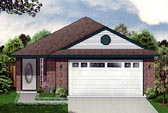 Plan Number 88608 - 1327 Square Feet