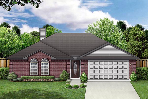 Traditional House Plan 88612 Elevation