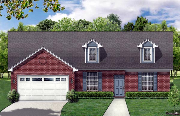 Country Traditional House Plan 88619 Elevation