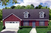 Plan Number 88619 - 2162 Square Feet