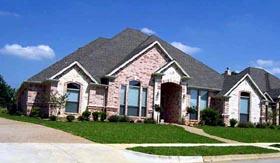 European Traditional House Plan 88622 Elevation