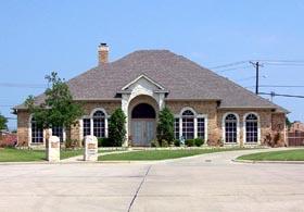 European Traditional House Plan 88624 Elevation