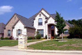 Traditional , European House Plan 88626 with 4 Beds, 3 Baths, 3 Car Garage Elevation