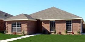 Traditional House Plan 88644 with 3 Beds, 2 Baths, 2 Car Garage Elevation