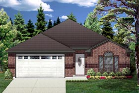 Traditional House Plan 88646 Elevation