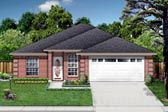 Plan Number 88648 - 1551 Square Feet