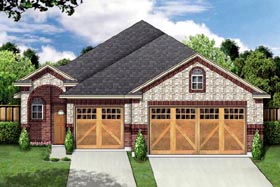 Traditional House Plan 88650 Elevation
