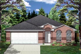 Traditional House Plan 88651 Elevation