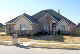 House Plan 88656   Traditional Style Plan with 2528 Sq Ft, 3 Bedrooms, 3 Bathrooms, 3 Car Garage Elevation