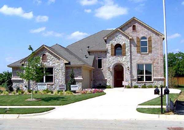 European House Plan 88657 Elevation