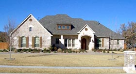 House Plan 88661 | European Tudor Style Plan with 3650 Sq Ft, 4 Bedrooms, 4 Bathrooms, 3 Car Garage Elevation