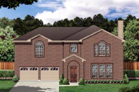 Traditional House Plan 88663 Elevation